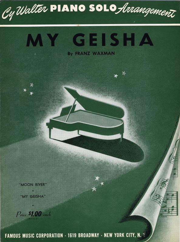 Franz Waxman My Geisha An Original Soundtrack Recording