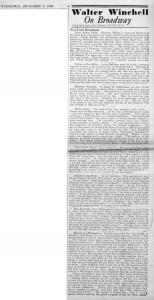 New York Daily Mirror 09.07.1938