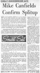New York Journal American 01.07.1958