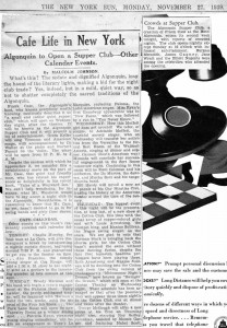 New York Sun 11.27.1939