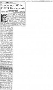 New York World Telegram And Sun 01.15.1950
