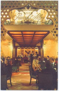 Waldorf-Astoria's Peacock Alley Postcard Front