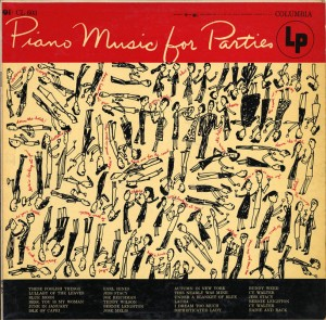 Piano Music For Parties LP Cover