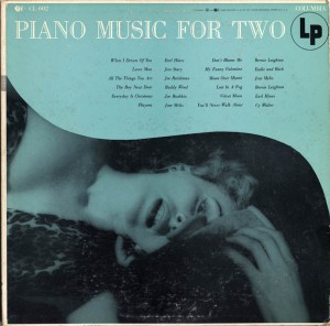 Piano Music For Two LP Cover