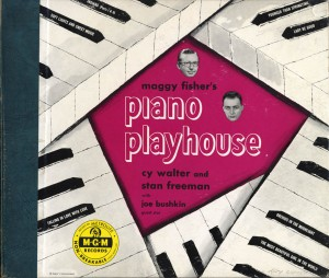 Piano Playhouse 78rpm Cover