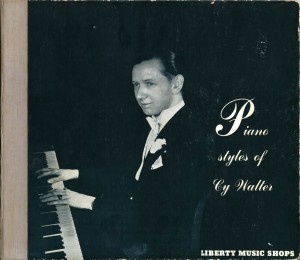 Piano Styles of Cy Walter 78rpm Cover