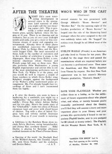 Playbill Article 01.13.1939