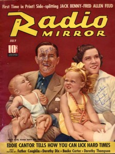 Radio Mirror July 1938 Cover