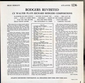 Rodgers Revisited Back Cover