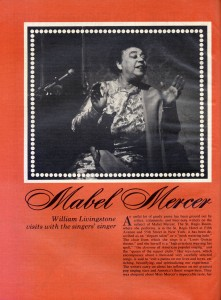 Stereo Review Magazine February 1975 Mabel Mercer And The Art of Cabaret Article Page 1