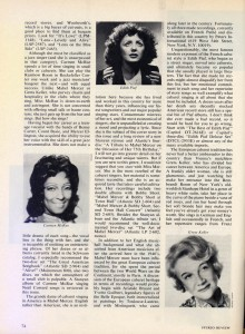 Stereo Review Magazine February 1975 Mabel Mercer And The Art of Cabaret Article Page 11