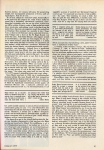 Stereo Review Magazine February 1975 Mabel Mercer And The Art of Cabaret Article Page 2