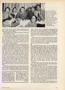 Stereo Review Magazine February 1975 Mabel Mercer And The Art of Cabaret Article Page 4