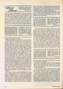 Stereo Review Magazine February 1975 Mabel Mercer And The Art of Cabaret Article Page 5