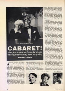 Stereo Review Magazine February 1975 Mabel Mercer And The Art of Cabaret Article Page 7