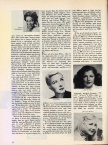 Stereo Review Magazine February 1975 Mabel Mercer And The Art of Cabaret Article Page 9