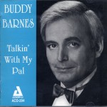 Buddy Barnes Talkin' With My Pal CD Cover