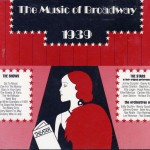 The Music Of Broadway 1939 CD Cover