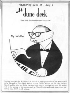 Dune Deck Hotel Westhampton Beach New York Ad 06.24.1960